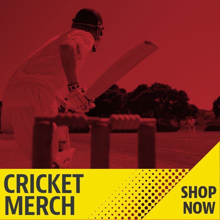Cricket Merch Shop Now!