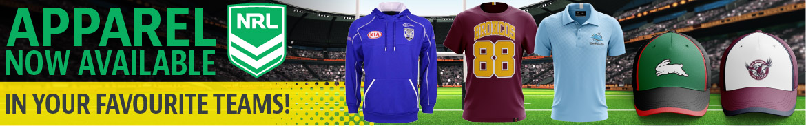 NRL Licensed Merchandise Range